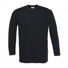Cotton Long Sleeve Crew Neck Shirt