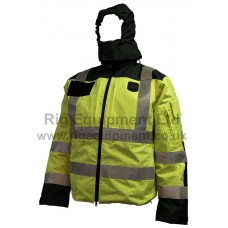 Rig Fire Retardant Waterproof Anti Static Storm Jacket